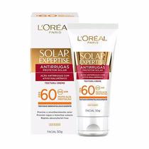 Loreal Solar Expertise Antirrugas Fps 60 Facial 50g