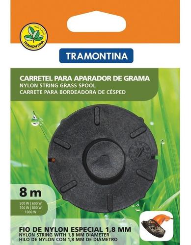 Carretel Fio De Nylon 1,8mm X 8m Aparador De Grama