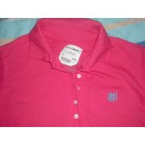 Camisa Feminina Polo Wear Pink Tamanho Gg