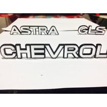 Letreiro Emblema Astra Gls Chevrolet Belga 1994, 1995, 1996