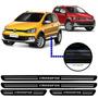 Jogo Soleira Resinada Volkswagen Crossfox 2008/...