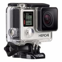 Filmadora Gopro Hero4 Cam Hd Silver Tela Lcd Original Gopro4