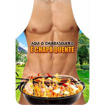 Avental Personalizado Churrasco Chapa Quente - Permeável