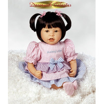 Mommy Boneca Asiática Reborn Silicone Flexivel + Acessórios