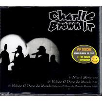 Charlie Brown Jr Cd Single Não É Sério + Rubão + Remix Raro