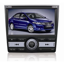 Central Multimidia Hbo-8912 Ho(by Caska) Honda City Gps/dvd