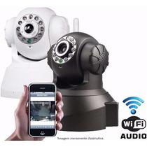 Câmera Ip Sem Fio Wireless Com Visão Noturna Ip 02ck