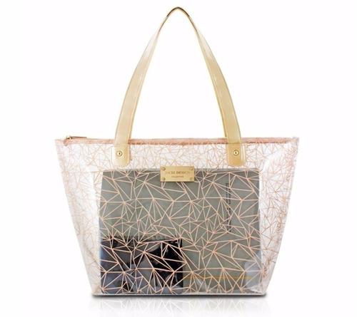 Bolsa Praia Ou Dia A Dia - Cristal Jacki Design Original