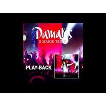 Cd Play-back Damares O Maior Trofeu Ao Vivo Cód. 24843