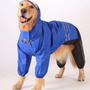 Roupas Para Cachorro Grande - Capa De Chuva Azul