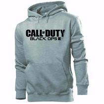 Blusa Moleton Call Of Duty Black Ops Iii. Otima Qualidade!!
