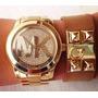 Relogio Feminino Michael Kors Mk5706 Dourado Original+caixa