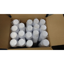 900 Potes Descartáveis Para Sorvete Ou Açai 480ml Branco