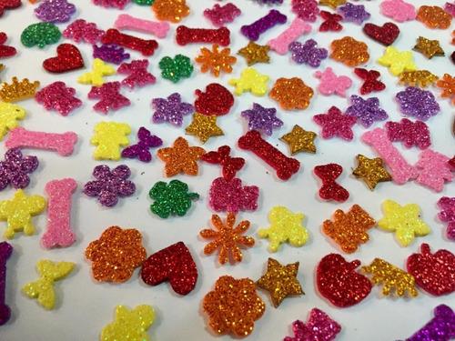 210 Adesivos Pet Femea De Eva Com Glitter Pronta Entrega