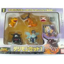 Digimon Set 6 Miniaturas Bandai Toei - Rarissimo!!