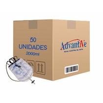 Bolsa Coletora De Urina - Estéril 2000ml - Cx Com 50 Unid...