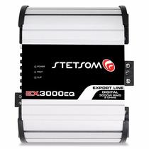 Modulo Amplificador Stetsom Ex3000 2 Ohms 3000w Rms Novo 2k5