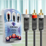 Cabo De Audio Stereo P2 / Rca Diamond Cable Jx-1035 1,5m