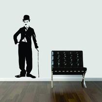 Adesivo Decorativo Parede Charlie Chaplin Quarto Cozinha