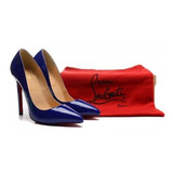 Sapato Só Kate Louboutin Salto 10cm. Original Pronta Entrega