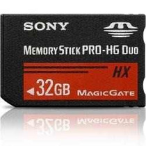 Memory Stick Sony Pro Duo 32gb/+jogos /desbloqueio/frete6,00