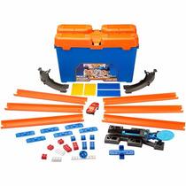 Hot Wheels Track Builder Kit Completo Laranja - Mattel