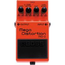 Boss Md-2 Mega Distortion Md 2 Pedal Efeitos Guitarra Md2
