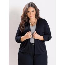 Blusa De Frio Casaquinho Plus Size | Grande Tamanhos | R247