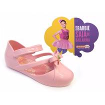 Sapatilha Infantil Baby Grendene Barbie Ballet 21471