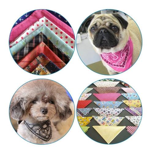 10 Lenços Bandanas P/ Pet Shop Filhotes E Pequeno Porte - P