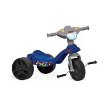 Triciclo Infantil Menino Velotrol Motoca Vingadores +2anos