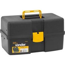 Caixa Plástica/maleta Ferramentas 3 Bandejas Vd-3001 Vonder