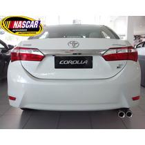 Ponteira Dupla Toyota Corolla Em Aço Inox 304 Linda !!!