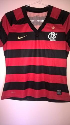 Camisa Flamengo 2009 Feminina Nike Freddy Krueger Raridade ee0d9a6a40ee6
