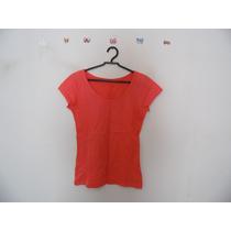 Blusa Feminina Coral Manguinhas Cód. 564