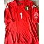 Camisa Itália Copa Do Mundo 2002 Buffon Vermelha Kappa