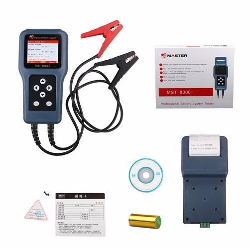 Teste De Bateria Digital Com Impressora Mst 8000 Português