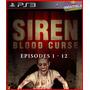 Siren Blood Curse Ps3 Psn Suspense E Terror