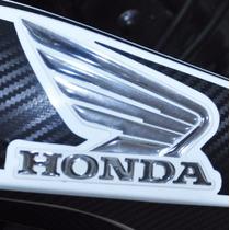 Kit Adesivo Faixa Relevo 3d Asa Tanque Moto Honda Bros 160
