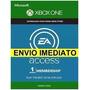 Ea Access 1 Mês Código 25 Dígitos Xbox One Envio Imediato