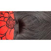 Cabelo Humano Preto Liso Tela 45 Cm 50 Gr- Mega Hair