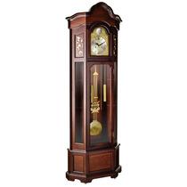 5395 - Relógio Chão Pedestal Carrilhão Musical Pilhas Herweg