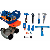 Garage Com Acessórios - Hot Wheels - Hw1331 - Pronta Entrega