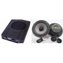 Set Audiophonic Para Saveiro Caixa Aps2.1 + Kit Ks6.2