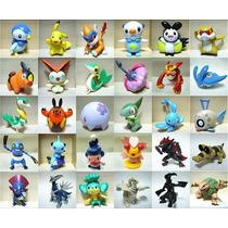 10 Miniaturas Pokemons + Pokebola Pokemon
