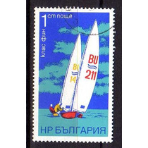 Bulgária 1973 * Veleiro Classe Finn .xx
