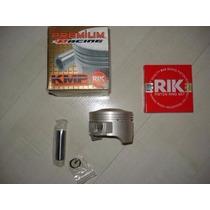Kit Pistão Competição Crf 230 P/ 240cc Anéis Rik Taxado Cpl.