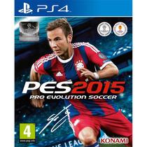 Jogo Pro Evolution Soccer 2015 - Pes 15 - Para Playstation 4