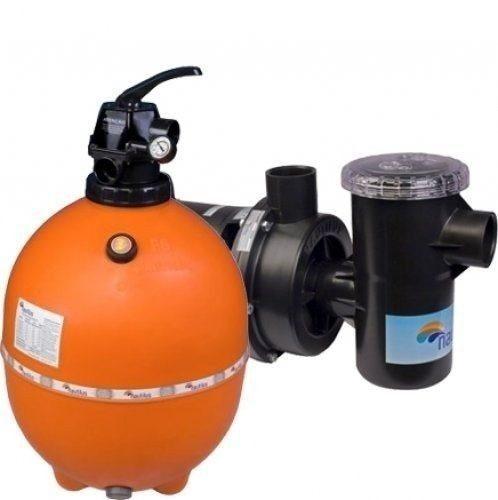 Kit moto bomba nbf 2 e filtro f450p nautilus para piscinas for Bombas para piscinas precios