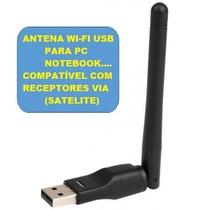 Antena Wifi Usb Para Receptor E Pc Envio Imediato